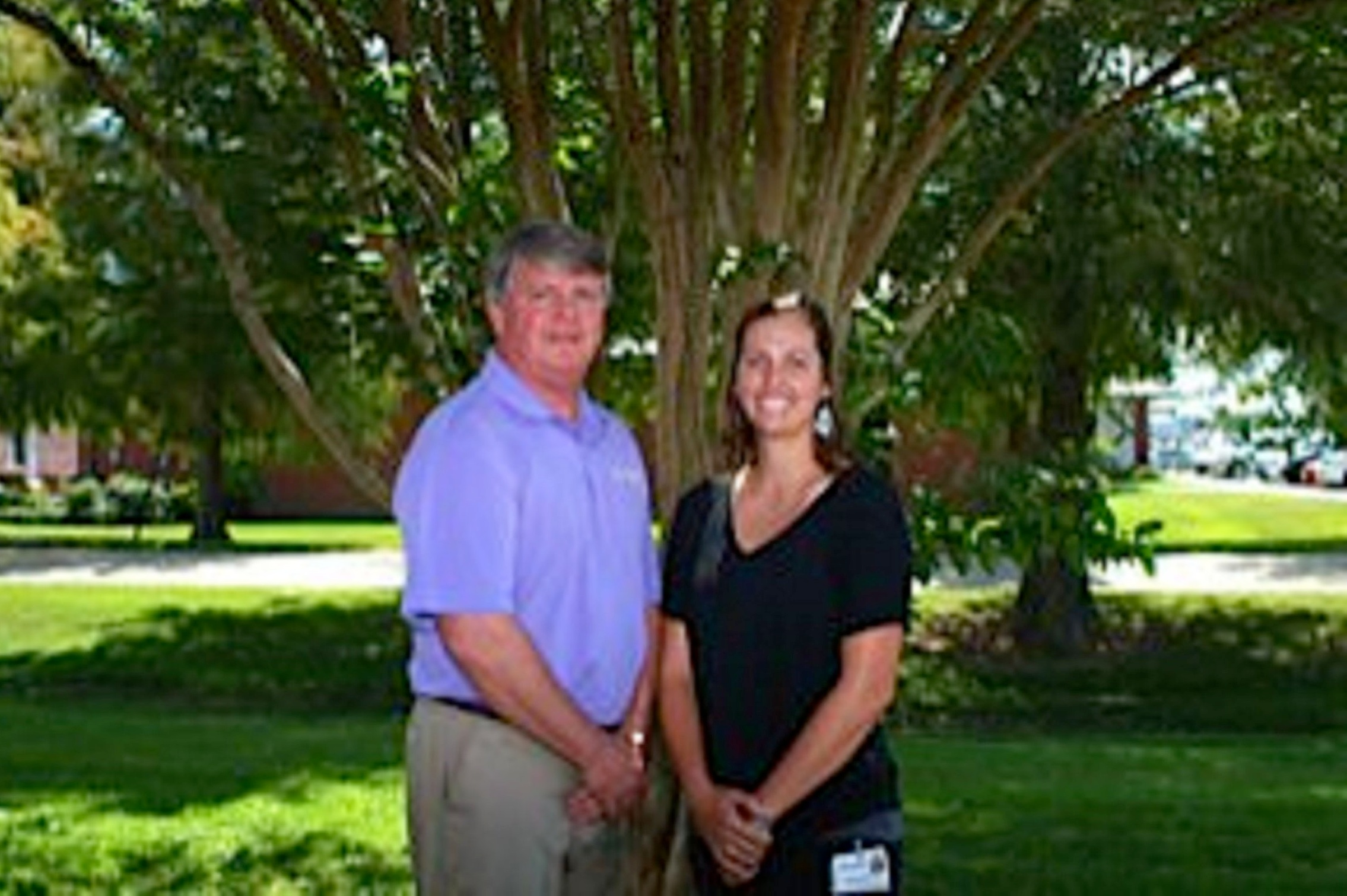 John Allen, P.T., Director and Brittany Ezell-LeJeune, P.T., D.PT.
