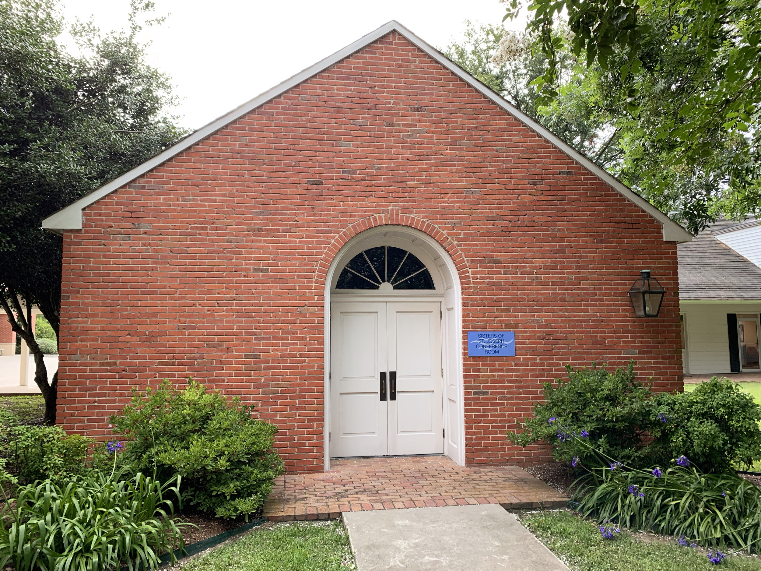 """Commonly referred to as """"the Chapel"""", the Sisters of St. Joseph Conference Room is one of the remaining physical influences from the Sisters."""