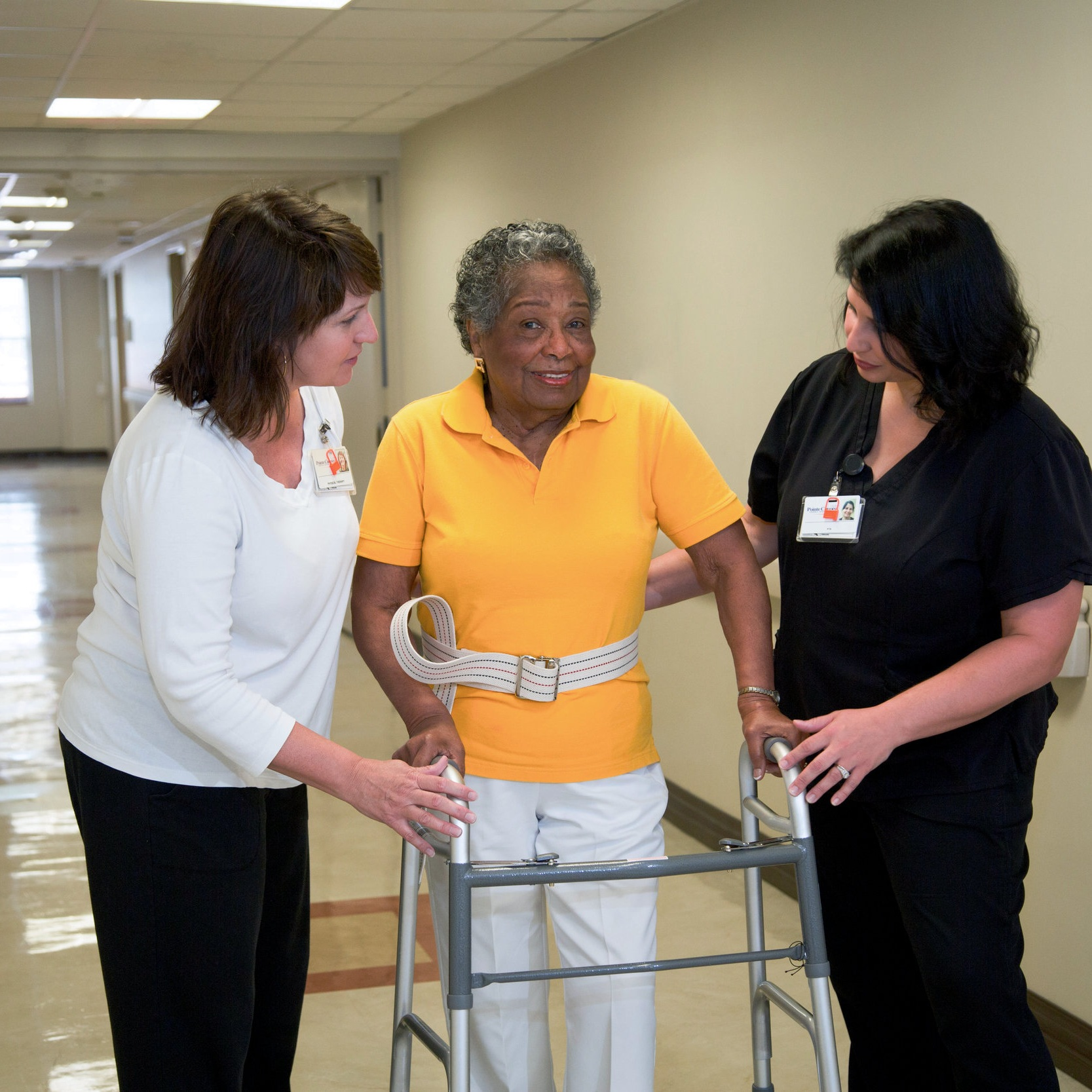 Skilled Rehabilitation Program - We offer a special program designed to provide skilled nursing and therapy care for patients who need continued care beyond an acute hospital stay. This program allows a patient extra time in the hospital to recover from illness, injury, or surgery before returning home.