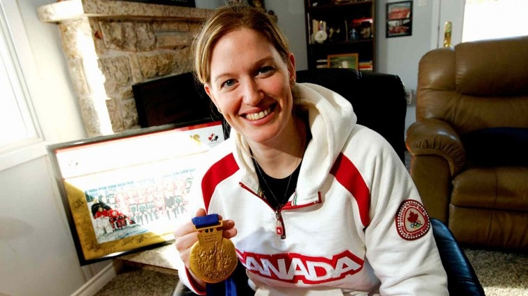 Small is one of 12 women and three goaltenders to win the triple crown of Canadian women's hockey — IIHF World Women's Hockey gold, Olympic gold and the Canadian Women's Hockey League championship with the Toronto Furies