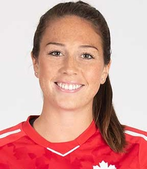 Lindsay Agnew - Houston Dash ForwardCanadian Women's National Team