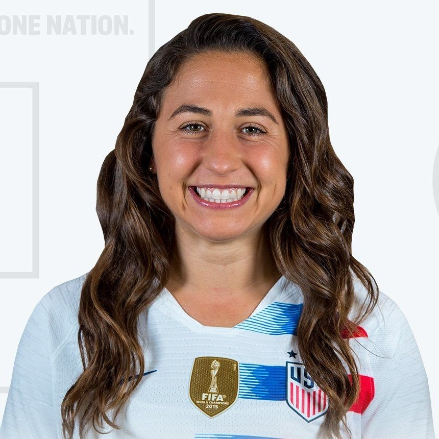 - Danielle Colaprico plays as a midfielder for the US Women's National Team
