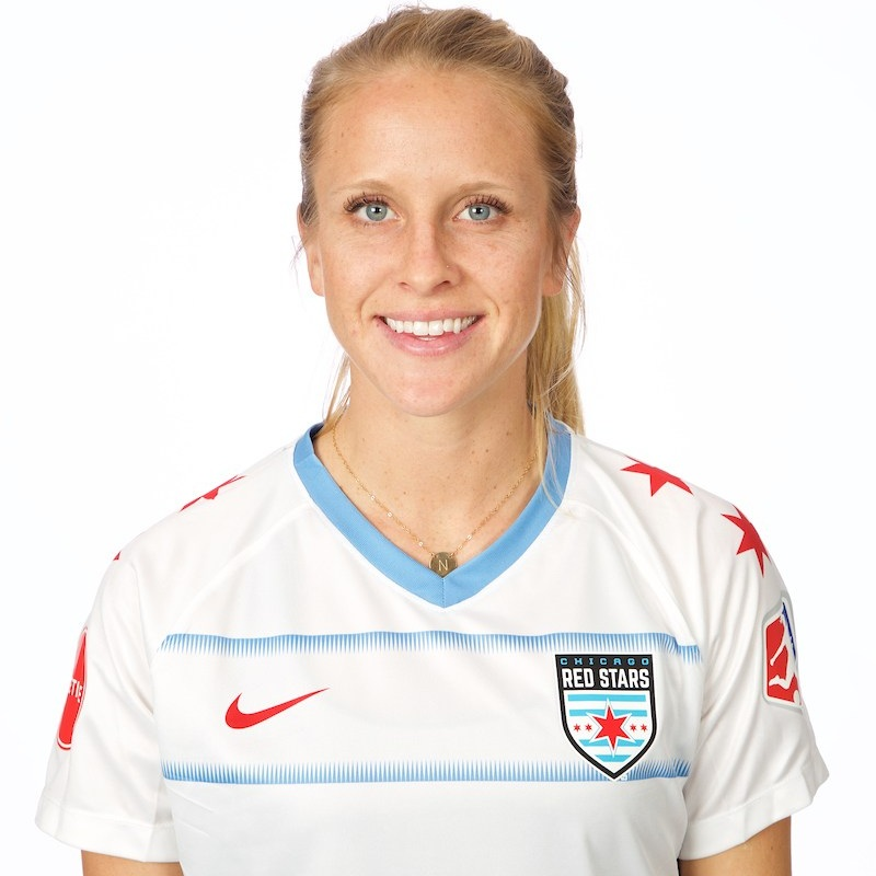 - Nikki Stanton plays as a midfielder for the Chicago Red Stars