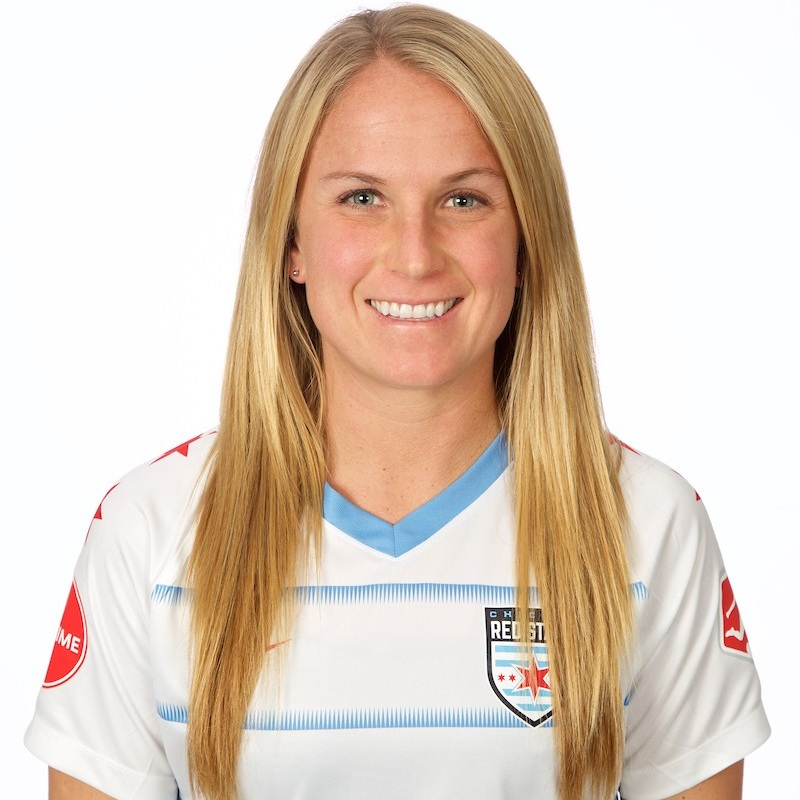 - Alyssa Mautz plays as a midfielder for the Chicago Red Stars