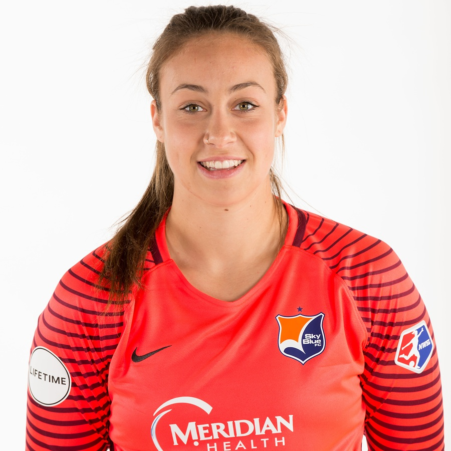 - Kailen Sheridan plays as goalkeeper for Sky Blue FC.