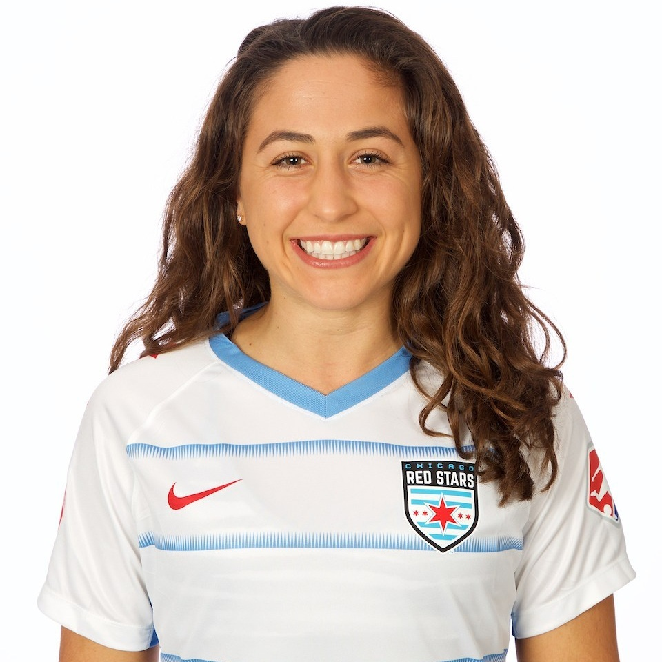 - Danielle Colaprico plays as a midfeilder for the Chicago Red Stars.