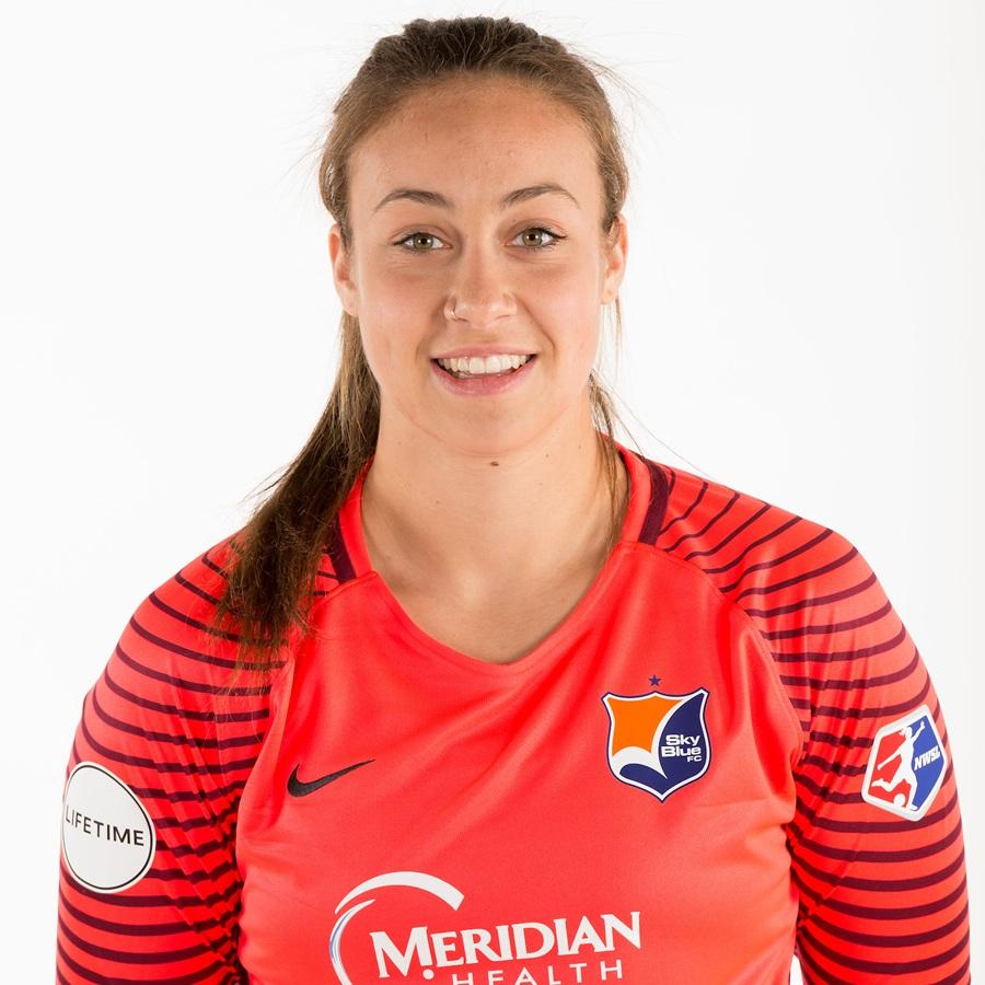 - Kailen Sheridan plays as a goalkeeper for the Sky Blue FC.