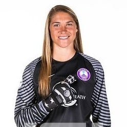 - Aubrey Bledsoe plays as a goalkepper for the Washington Spirit