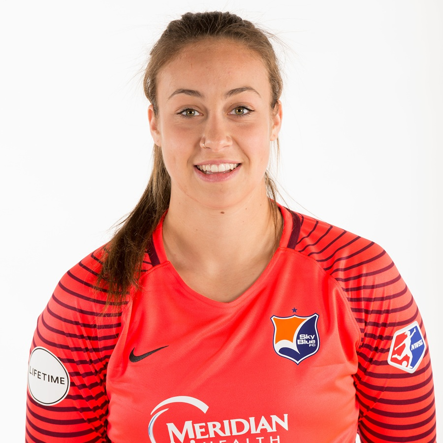- Kailen Sheridan plays as a Goalkeeper for the Sky Blue FC.