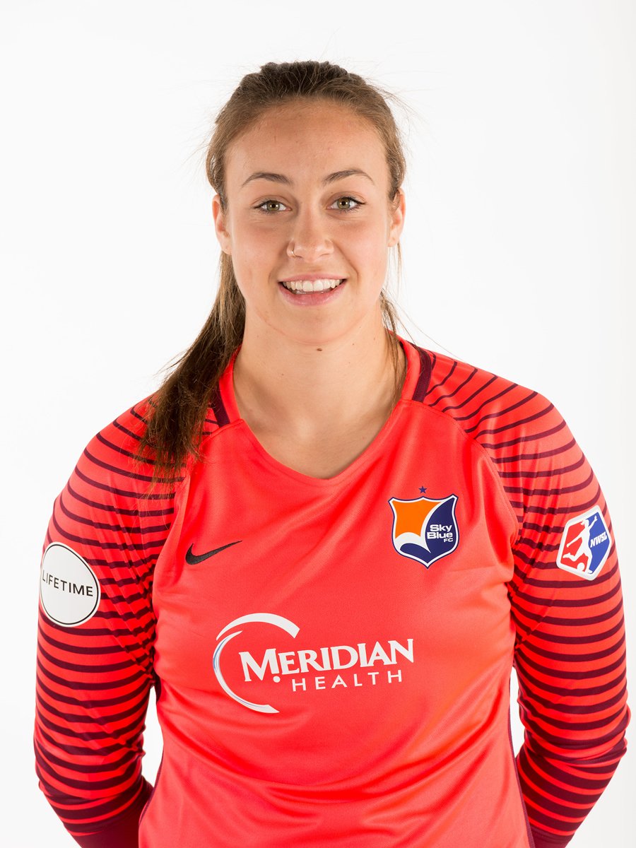- Kailen Sheridan plays as a goalkeeper for Sky Blue FC