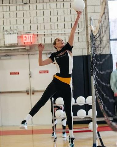 Gigi Hadid - Gigi Hadid was once a Junior Olympic qualifying volleyball player.