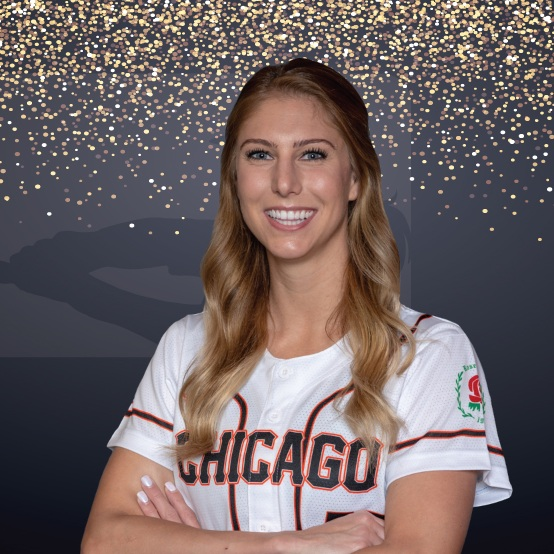 Brenna Moss plays as an outfielder for the Chicago Bandits