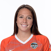 - Lindsay Agnew plays as a forward for the Houston Dash