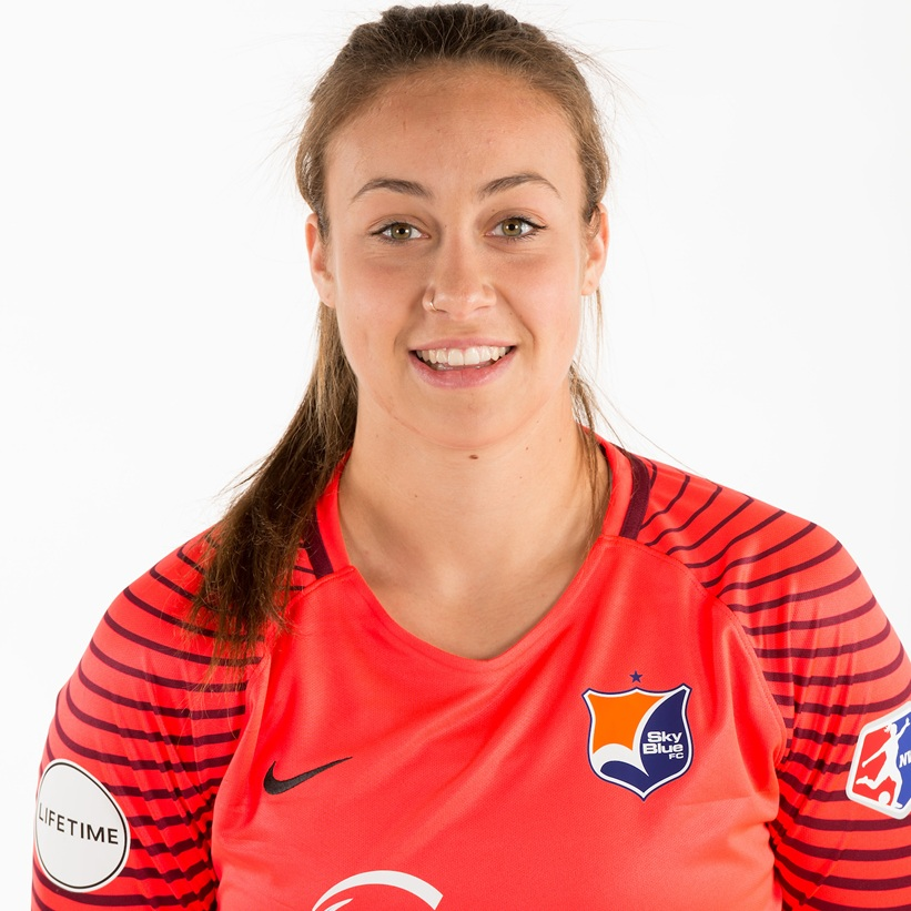 - Kailen Sheridan plays as a goalkeeper for Sky Blue FC