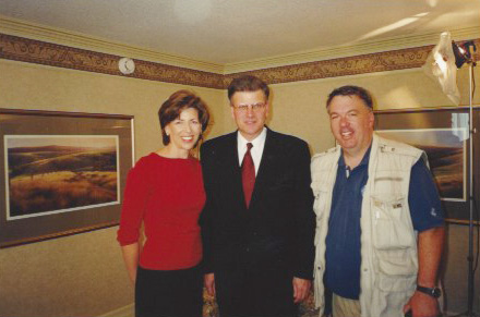 Rev. Franklin Graham and Tommy Colones