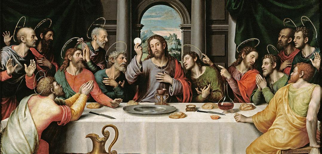 Juan de Juanes:  The Last Supper, 1560