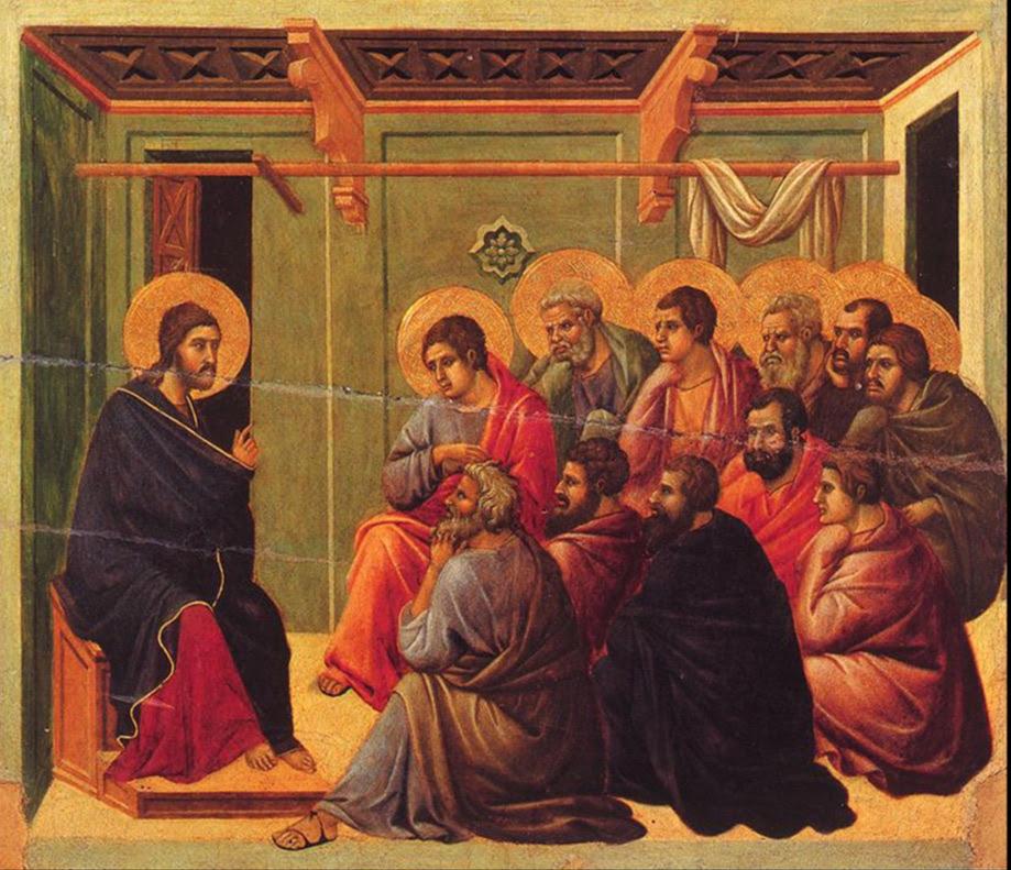 From the  Maesta  by Duccio, 1308–1311