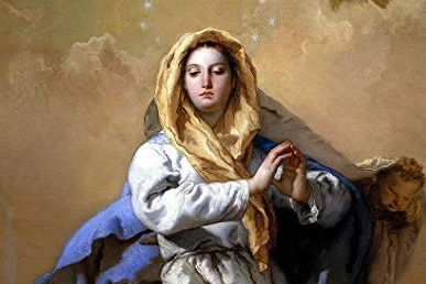 Solemnity of the Immaculate Conception of the Blessed Virgin Mary - Not a Holy Day of Obligation this yearMonday, December 9:8:00am