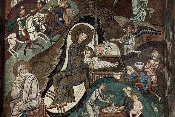 Solemnity of The Nativity of the LOrd(Christmas) - Tuesday, December 24:4:00pm⎜6:00pm⎜8:00pm (Spanish)12:00 midnightWednesday, December 25:9:00am⎜11:15am