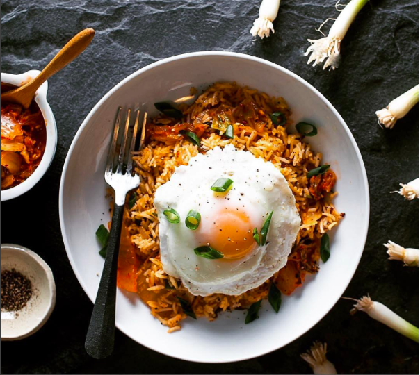 Kimchi Fried Rice -