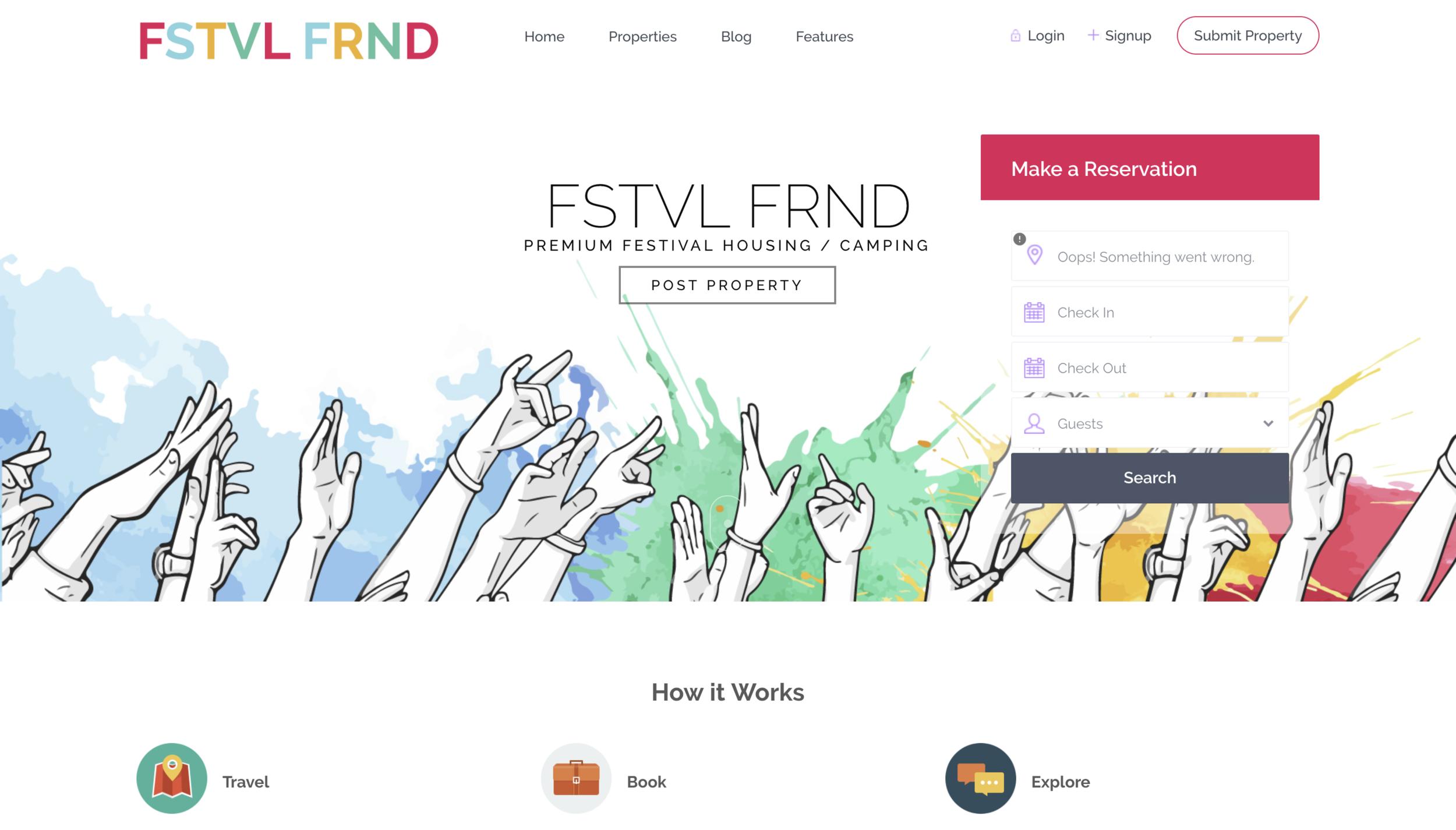 FSTVL FRND - Work in progress. . .