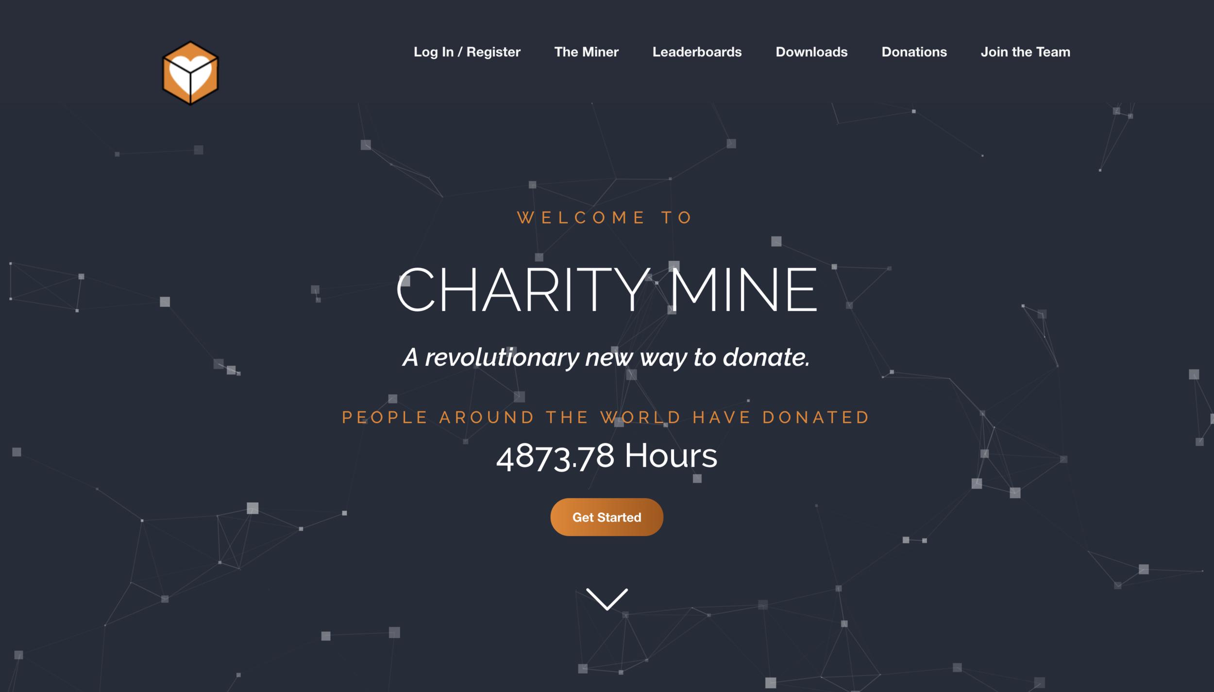 Charity Mine - Branding - Web Design - Software Design
