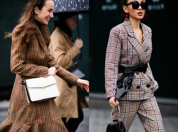 You can never go wrong with a plaid suit!