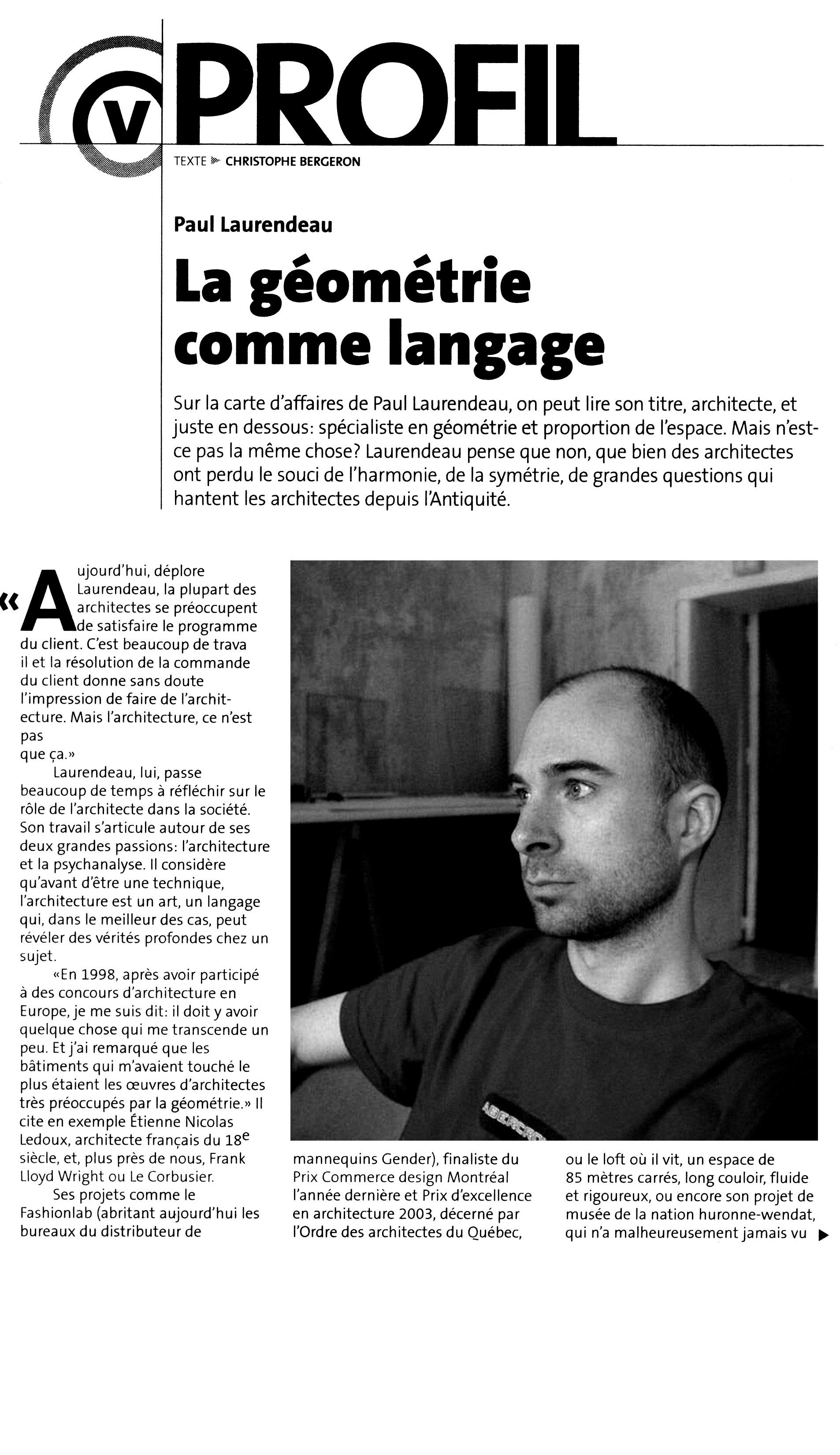 Copy of Paul Laurendeau La geometrie comme langage