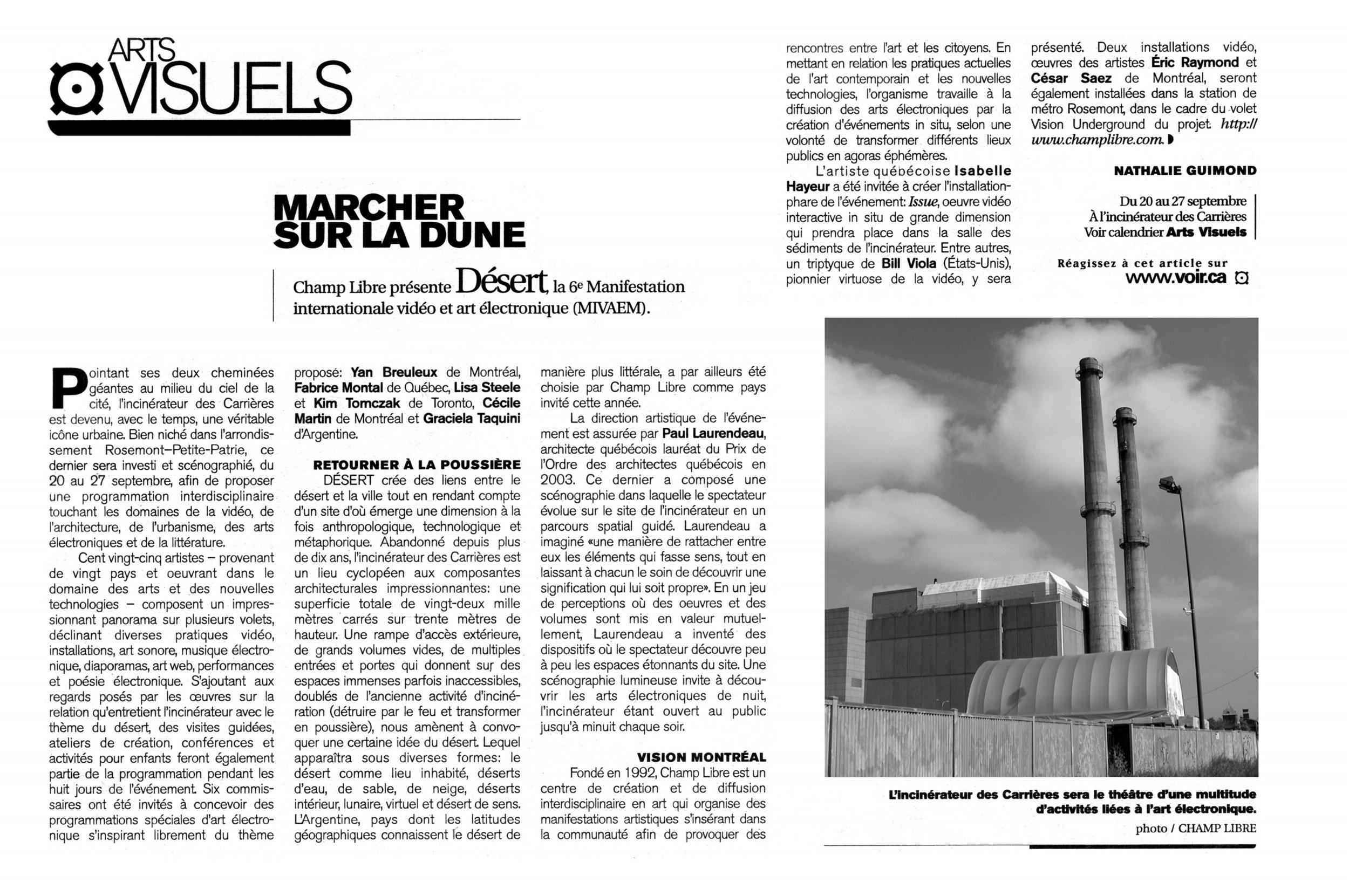 Copy of Marcher Sur La Dune
