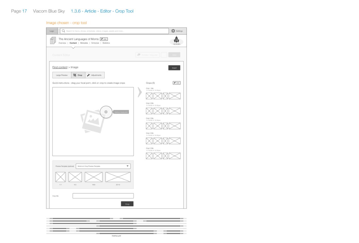 Article image - crop tool