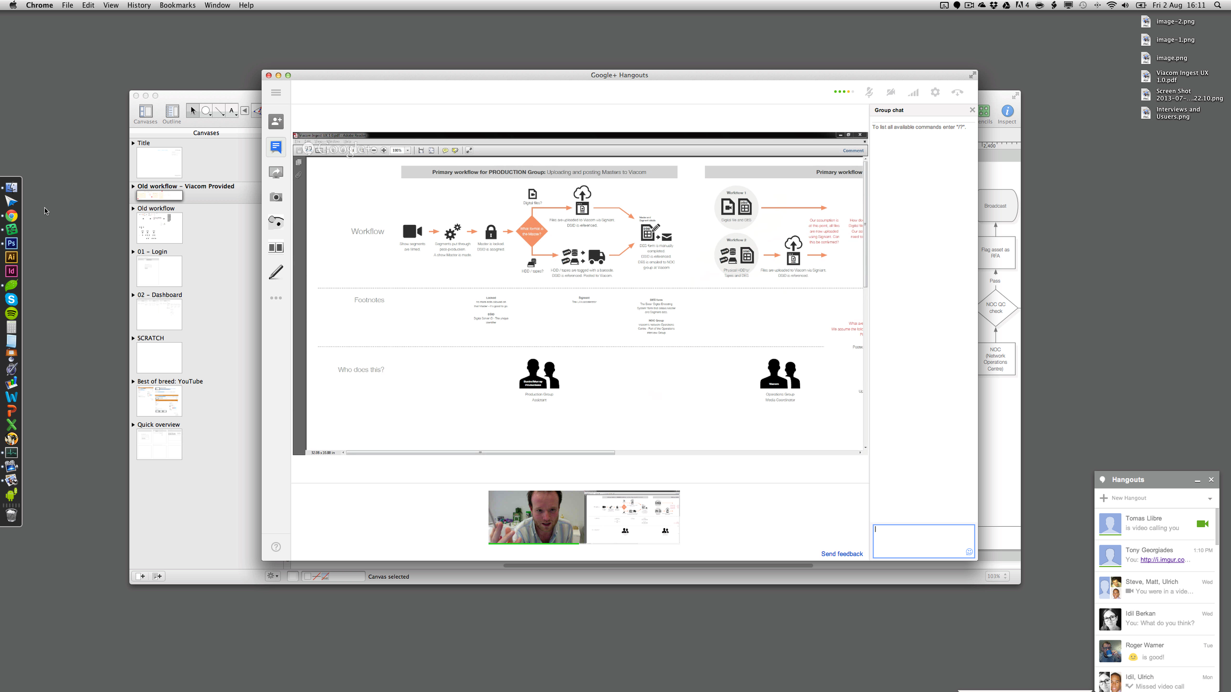 Review of new workflows