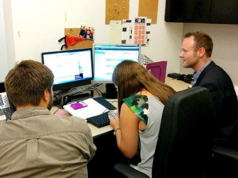 User testing with Viacom employees