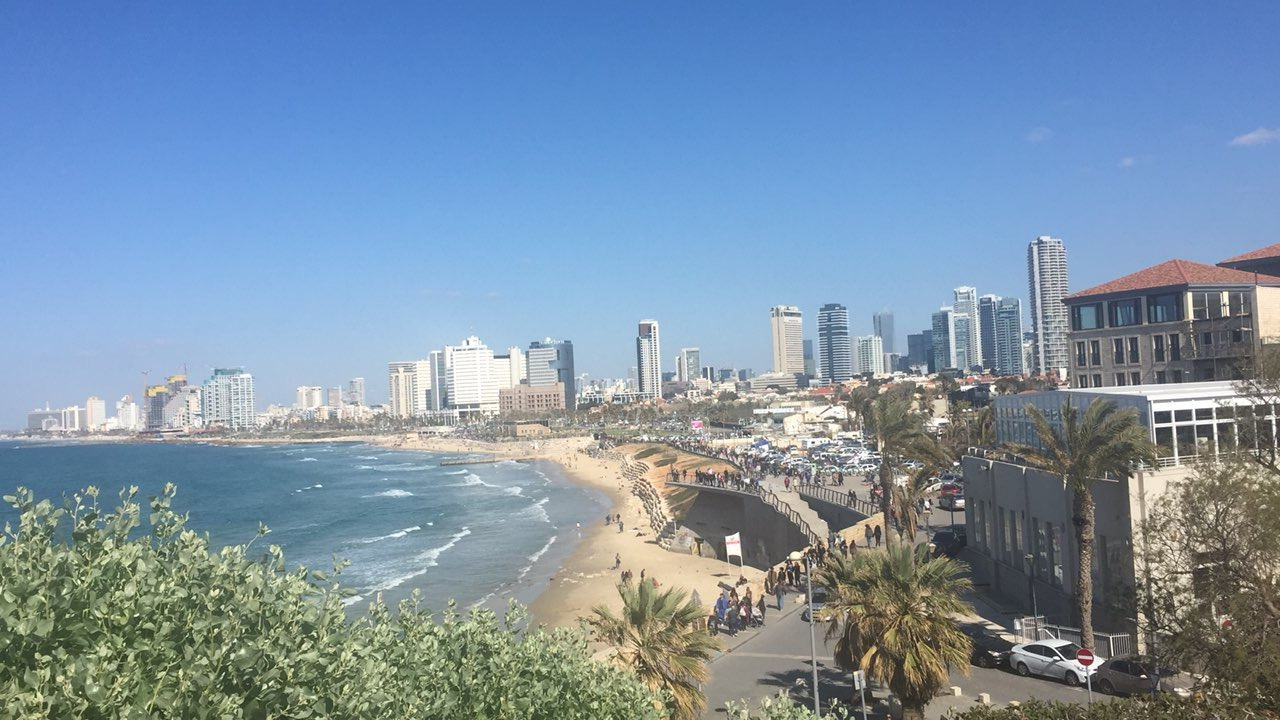 This photo was taken during my month-long stay in Tel Aviv in February 2017