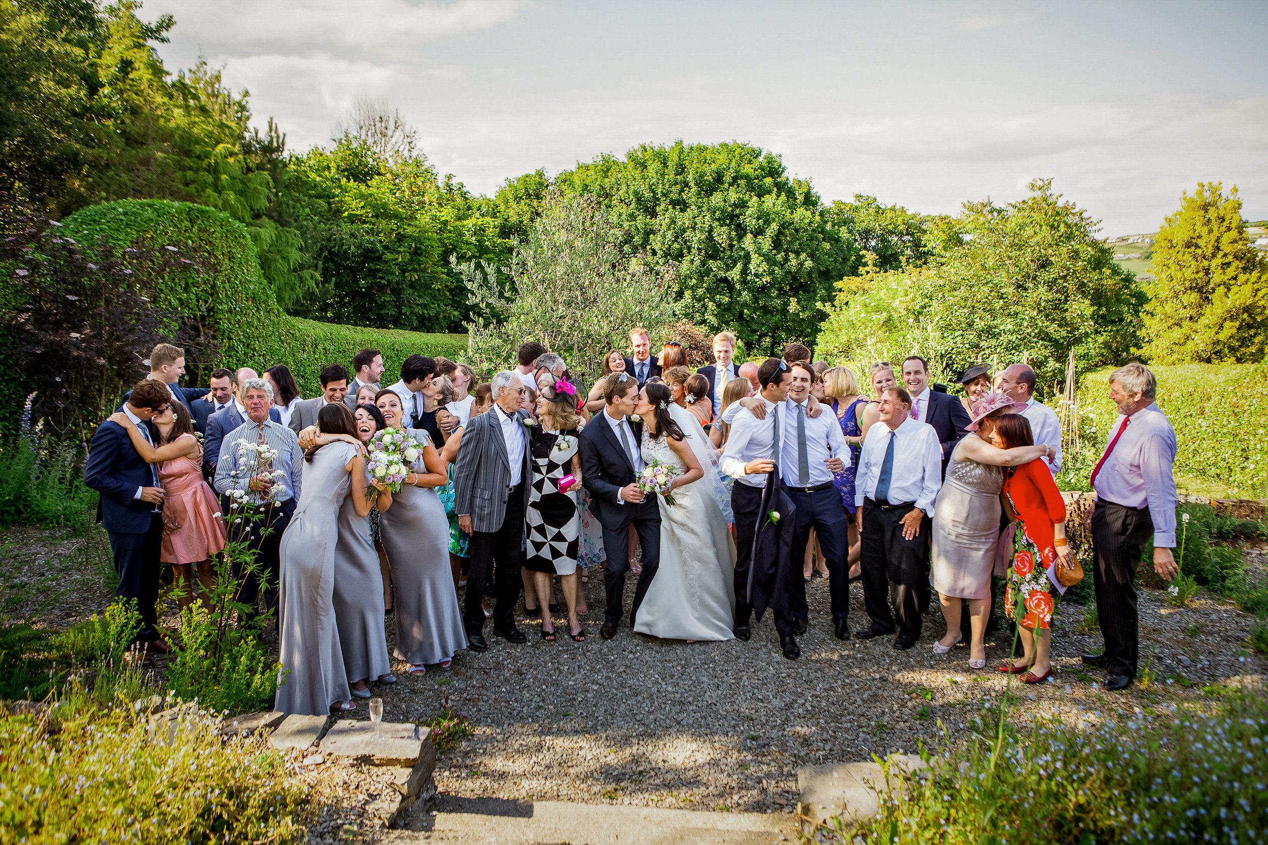 Glebe Gardens Wedding Photography by Casey Photography.  Baltimore West Cork