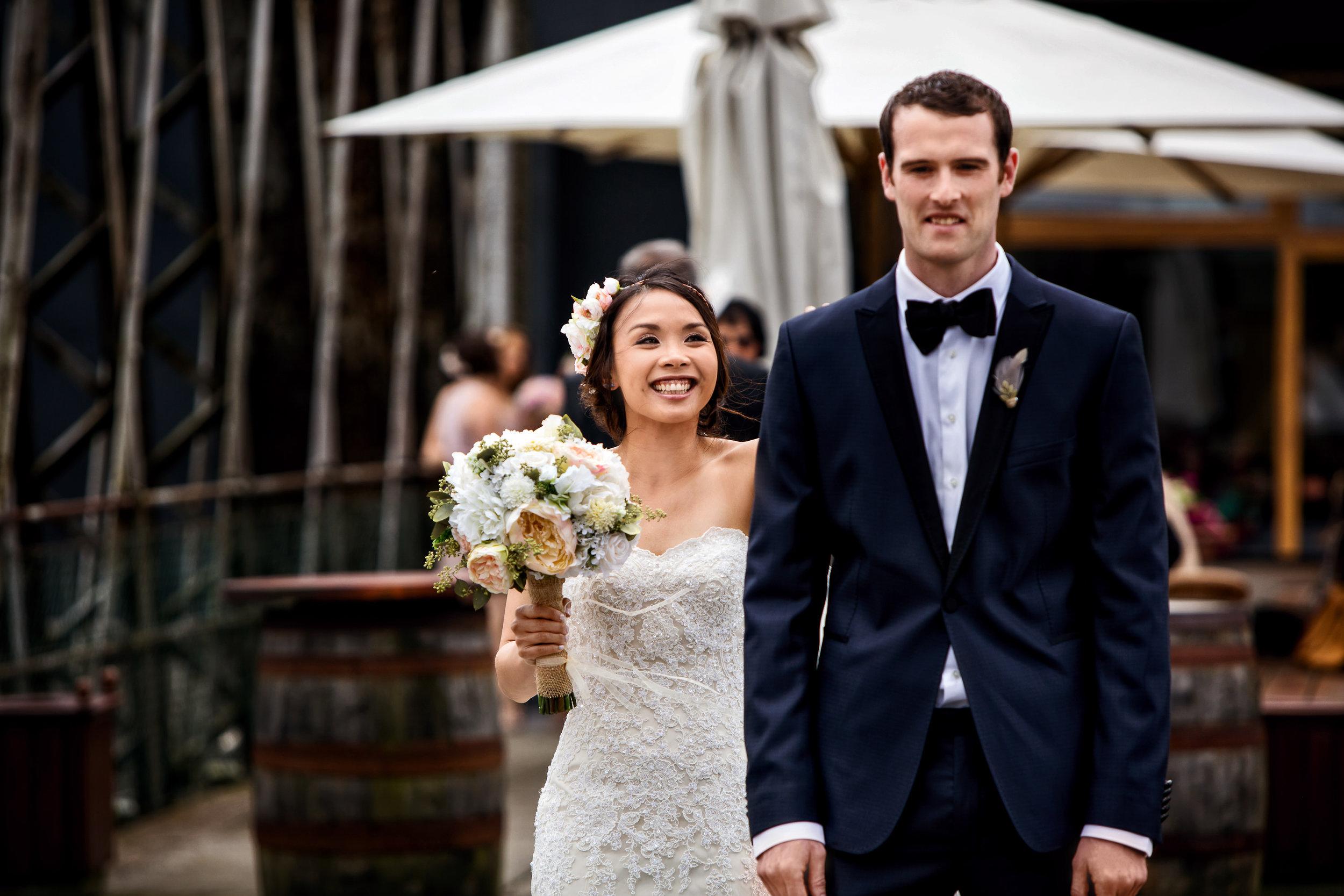 The West Cork Hotel, Skibbereen Wedding Photography. First Look wedding photography by Casey Photography