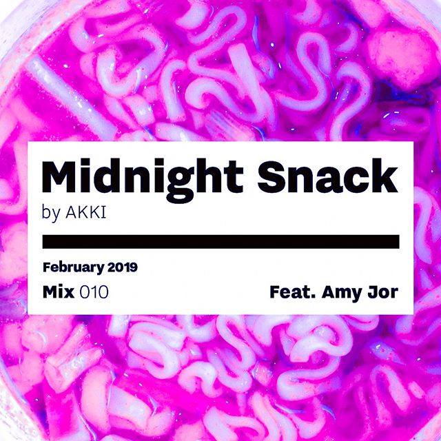 My new deep house guestmix/Q&A for @akkimusic's 10th episode of Midnight Snack is up