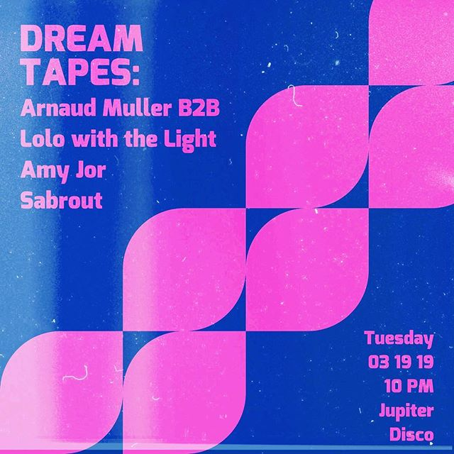 TONIGHT 10PM ✨Jupiter Disco w/ @arnaudmullermusic B2B @lolowiththelight, @sabrout.mp3, + myself ☁️💘 Free entry all night, come lounge n hang! Love u. #deephouse @vibetribeny🌛