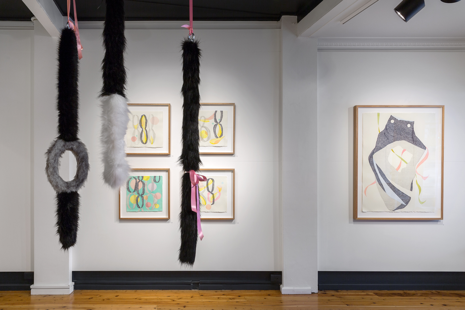Installation view,   Playpen    Egg & Dart Gallery, Thirroul, NSW  Image credit: Document Photography
