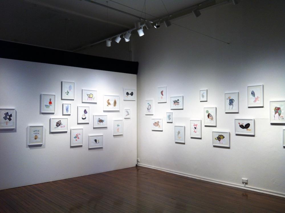 Installation view,   Memorophilia    Kudos Gallery, UNSW, Sydney