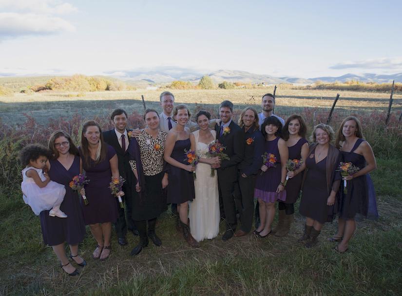Truchas Peaks Place Wedding