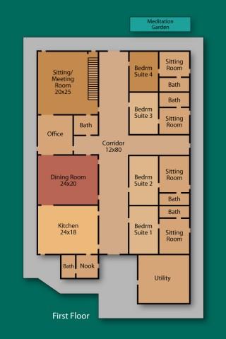 TPP - First Floor - Floor Plan