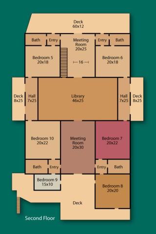 TPP - Second Floor - Floor Plan