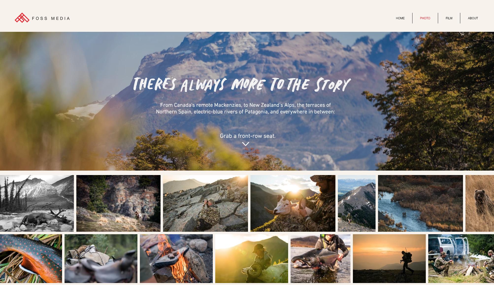 Foss Media Website by Cast + Company