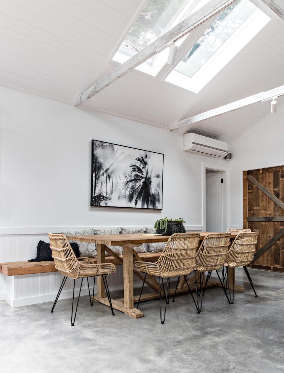 INTERIOR | Skylights & Concrete Floors