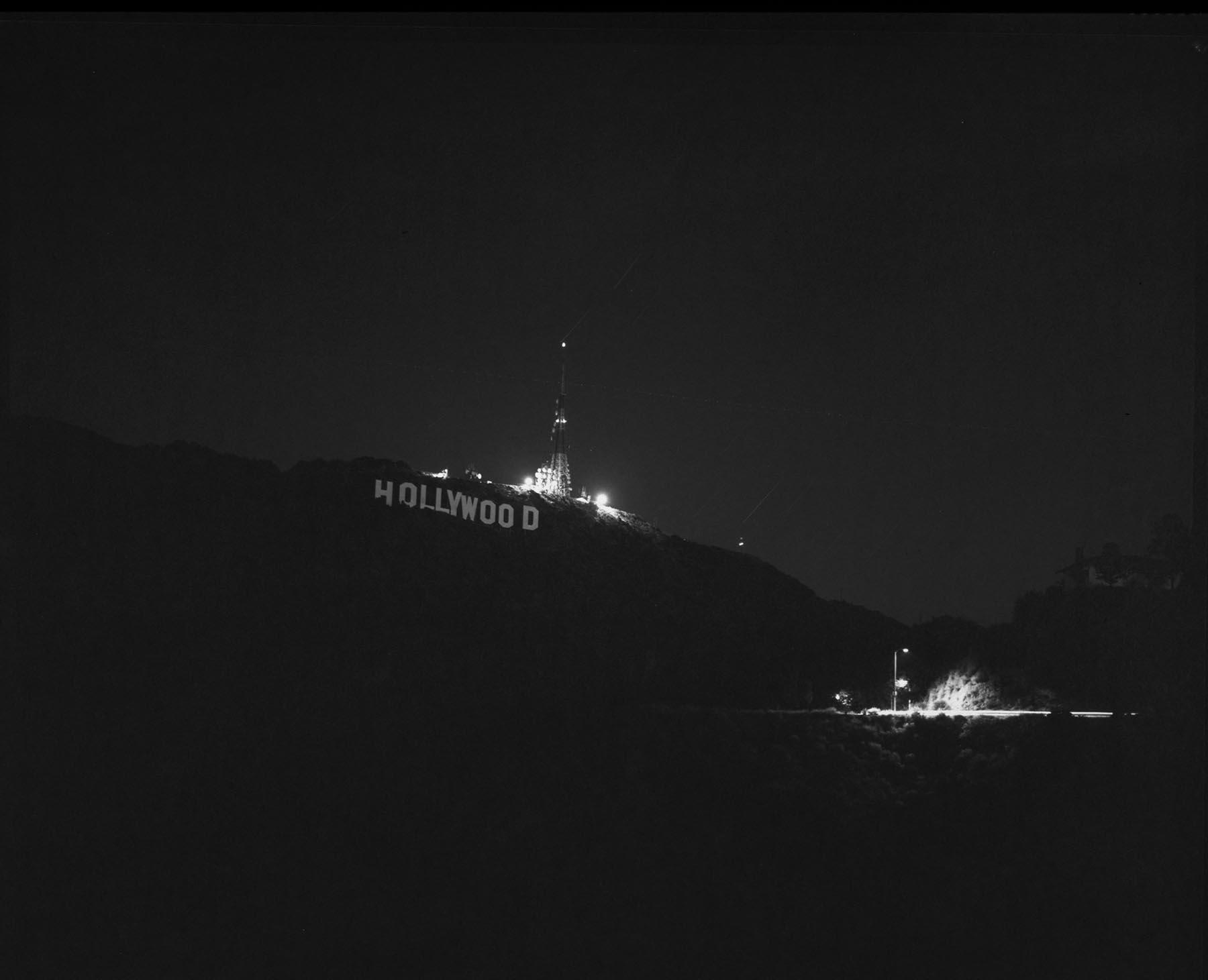 hollywood hills, california  2004