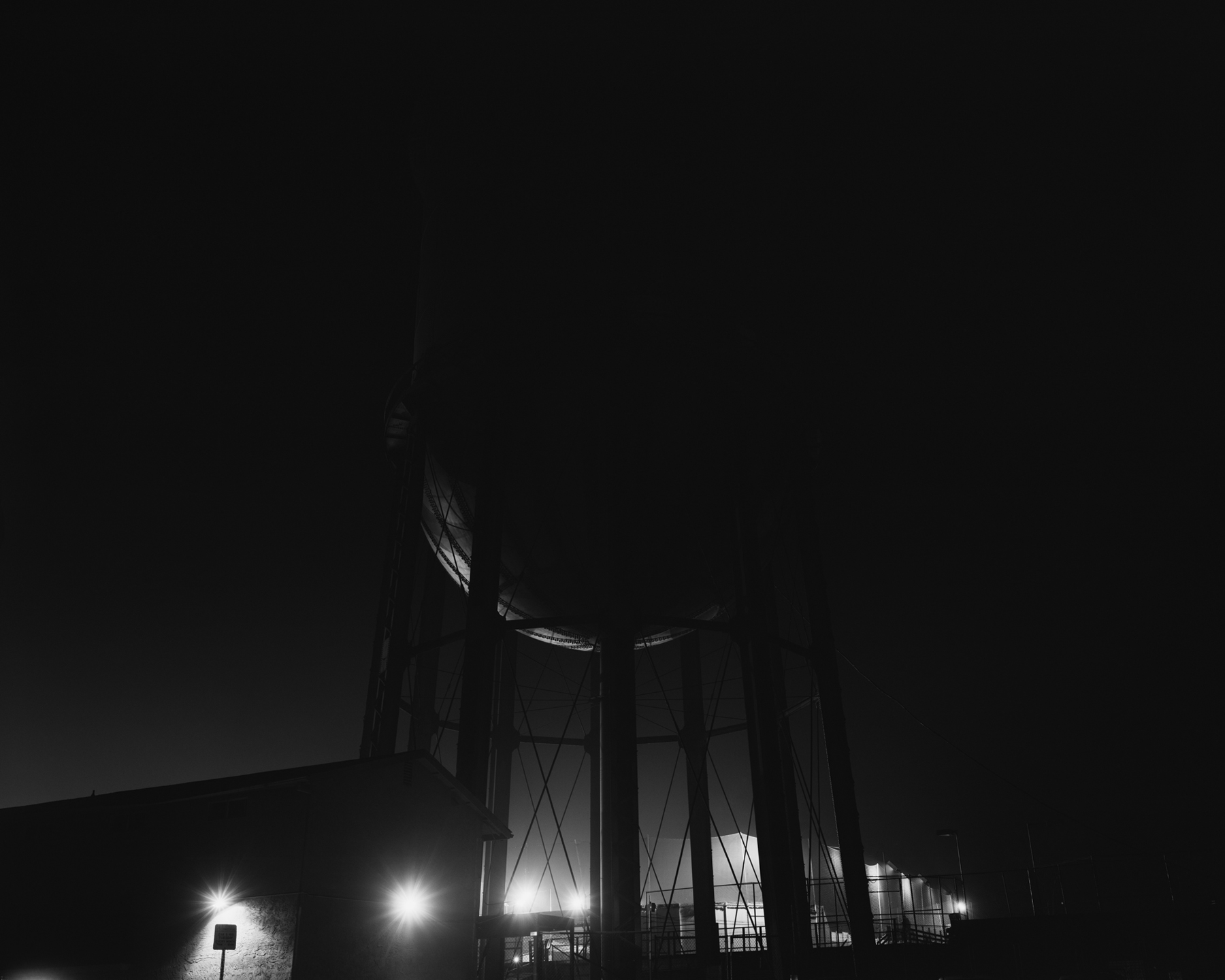 water tower, san diego  2012