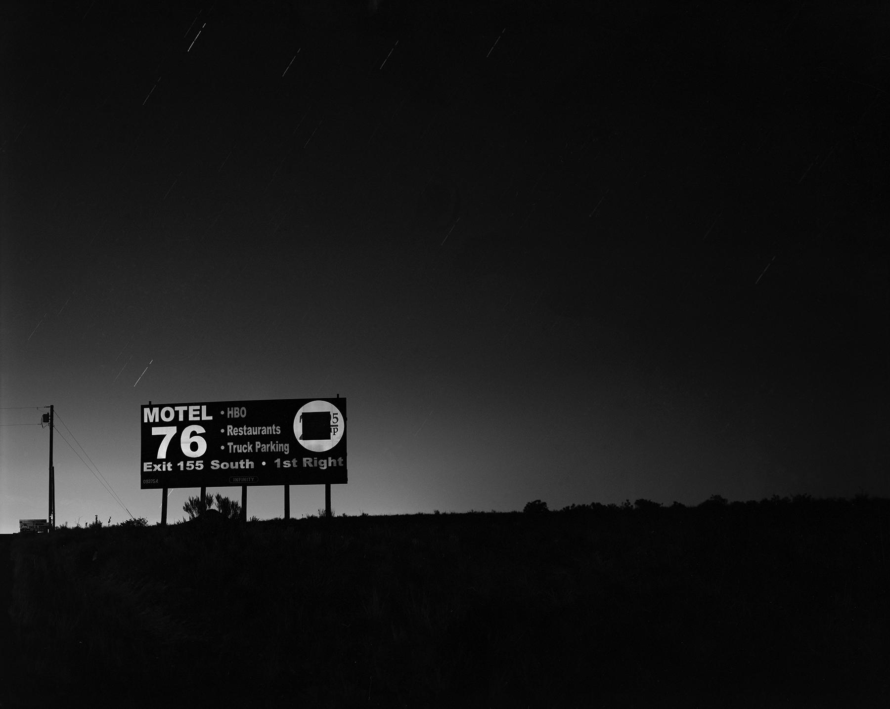 billboard, i-40, western new mexico,  2000