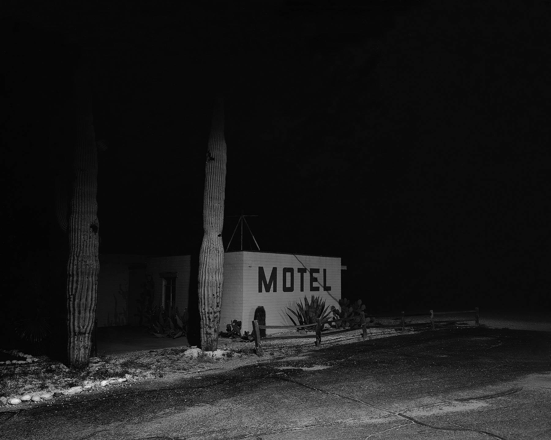 motel, southern arizona,  2007