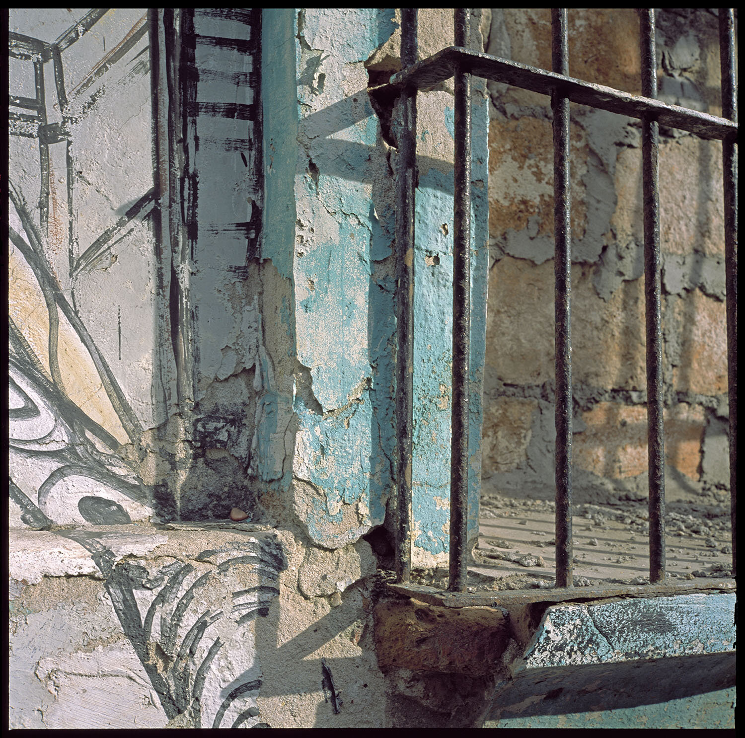 """Palimpsest - """"Palimpsest,"""" meaning layers upon layers, is a perfect way to describe photographer Keith Fred's texturally rich abstracts of the ever-changing soul of the urban environment."""