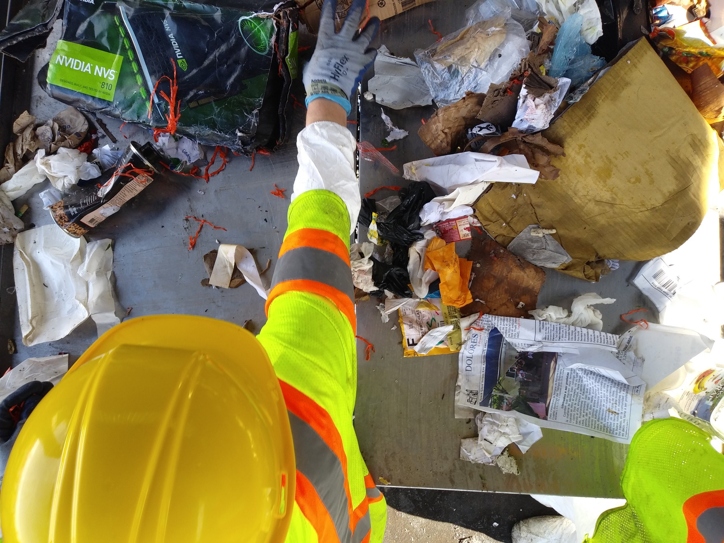 waste characterization study sort consulting los angeles subcontract